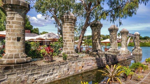 Caribbean, Antigua, Nelson's Dockyard, Tourism