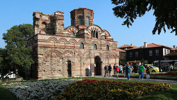 Nesebar, Christ Pantocrator Church, Church, Ancient