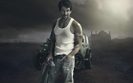 Vikram Hero, People, Man, Gray Hero