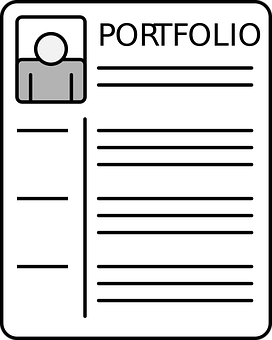 Portfolio, Cv, Business, Job, Work, Career, Icon