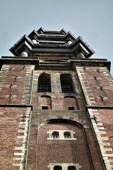 Tower, Church, Building, Sky, Spires, Architecture