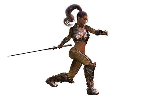 Woman, Sword, Strong, Amazone, Warrior, Heroine