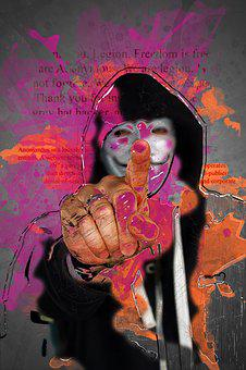 Anonymous, We Are Legion, Internet, Cyberspace