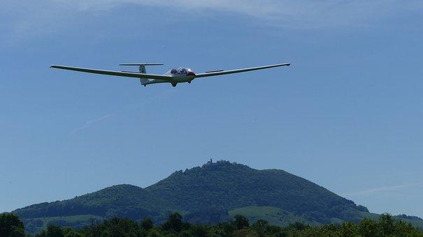 Aircraft, Gliding, Glider Pilot, Air Sports, Glider