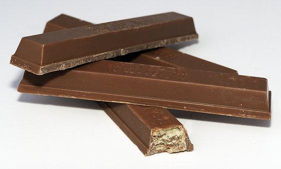 Chocolate, Candy Bar, Kit Kat, Sweetness, Nibble