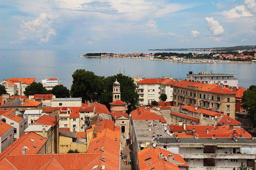 Croatia, Zadar, Roofs, Red, Historically, Old Town