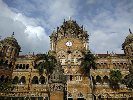 Csmt, Mumbai, Architecture, Building, Travel