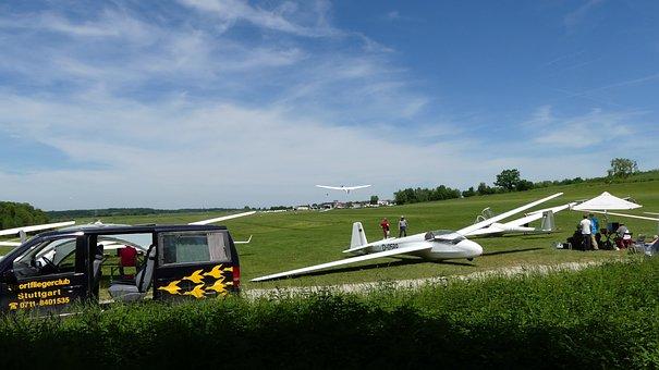 Gliding, Sky, Fly, Glider Pilot, Glider, Segelflugsport