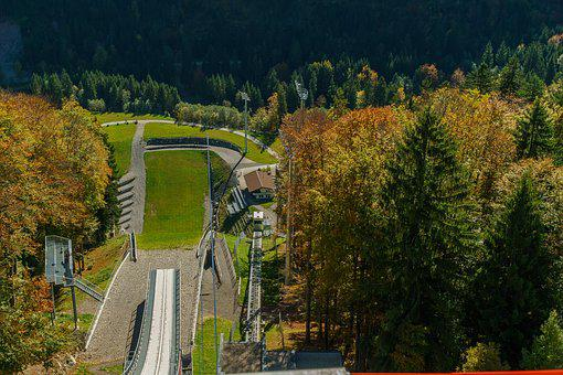 Oberstdorf, Heini Klopfer Ski Flying Hill, Allgäu