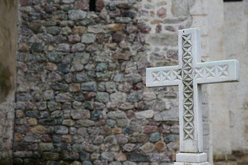 Cross, Wall, Cemetery, Hiking, Nature, Summit Cross