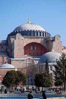 Hagia Sophia, Istanbul, Turkey, Hagiasophia, Dome