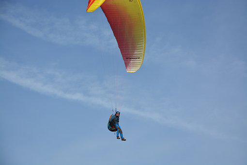 Paragliders, Leisure Sports, Practice In Free Flight