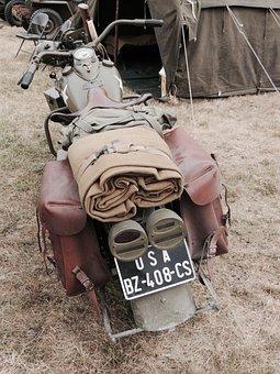 Military, Motorcycle, Usa, Harley Davidson, Harley