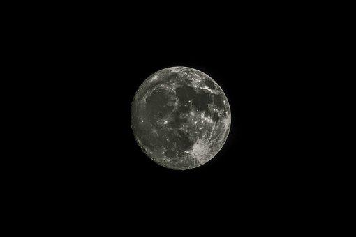 Satellite, Moon, Night, Astronomy, Lunar, Sphere