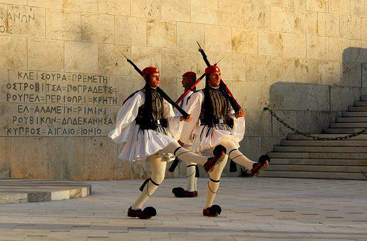 Greek National Guard, Nationalgarder, Syntagma, Athens