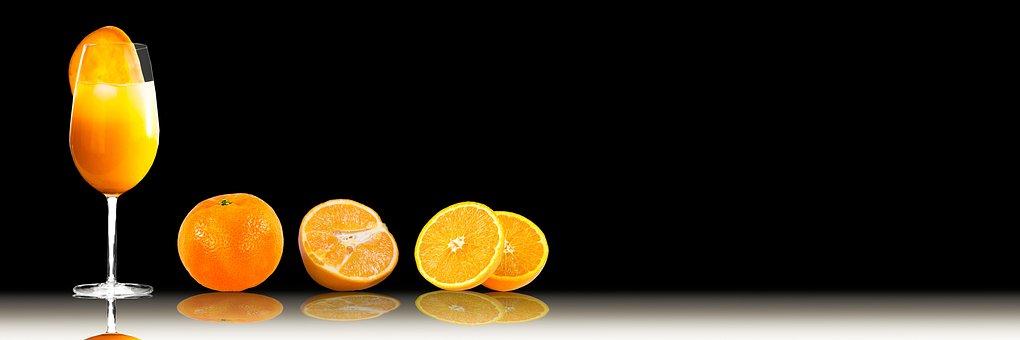 Drink, Food, Oranges, Glass, Juice, Orange Juice