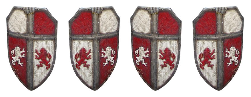 Shield, Armor, Knight, Middle Ages, Historically