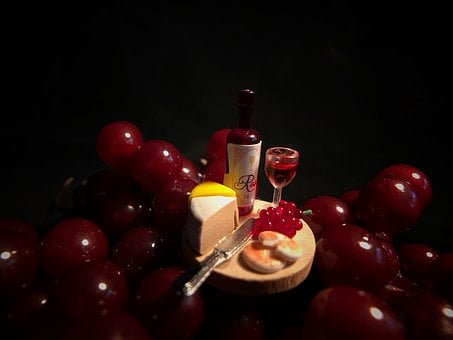 Wine, Grapes, Winery, Fruit, Vine, Red, Food, Drink