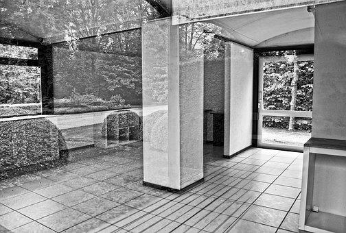 Interior, Floor, Glass, Wall, Window, Reflection, Space