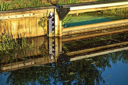 Water, Water Level, Measure, Water Level Measure