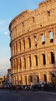 Colloseum, Colloseo, Rrome, Roma, Architecture, Ancient