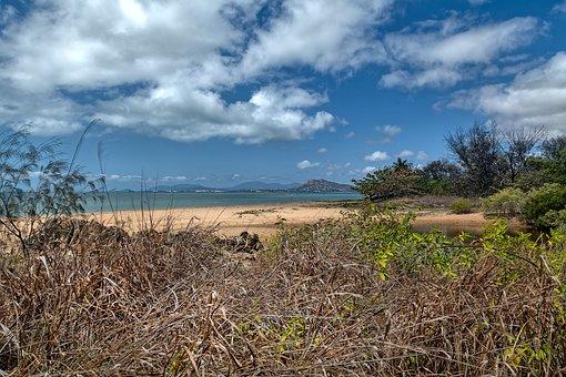 Beach, Beach Scape, Pallarenda Beach, Townsville Region