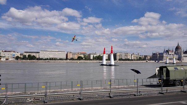 Airplane, Plane, Fast Plane, Flight, Flying, Budapest