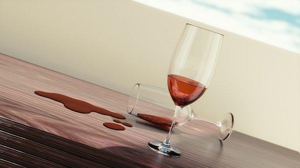 Wine, Glasses, Drink, Alcohol, Celebration, Red, Glass