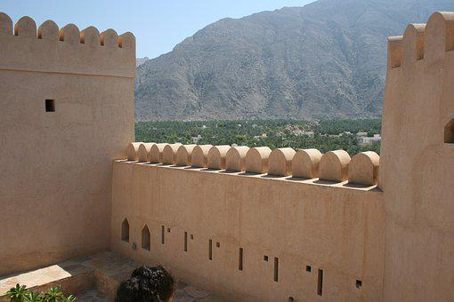 Oman, Fort, Architecture, Jibreen