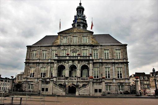 Maastricht, City Hall, Holland, Netherlands