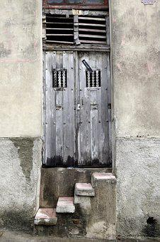 Old, Moibide, Input, Old Door, House Entrance