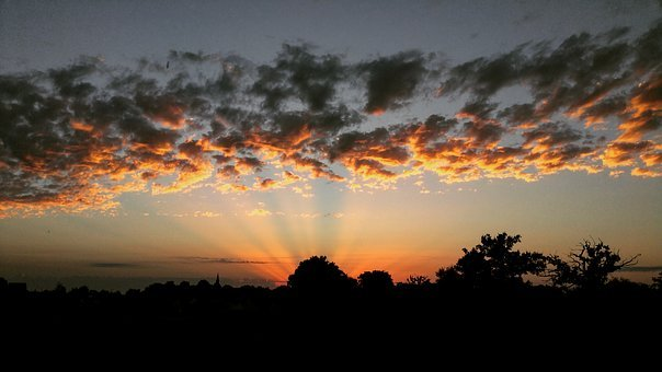 Sun, Nature, France, Landscape, Free Picture, Sky