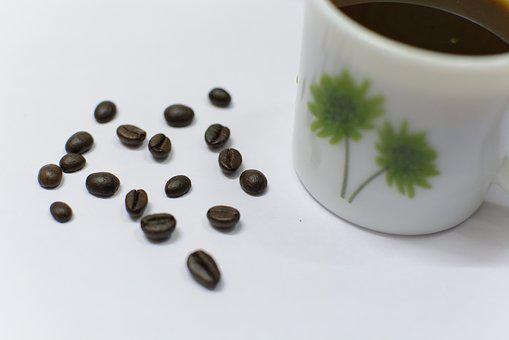 Coffe, Latte, Coffee Beans, Art, Abstract