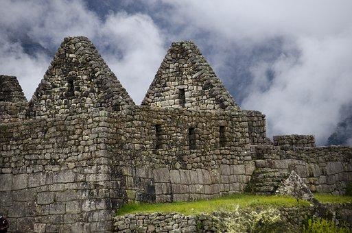 Inca Architecture, Machu Picchu, Peru, Machu, Picchu