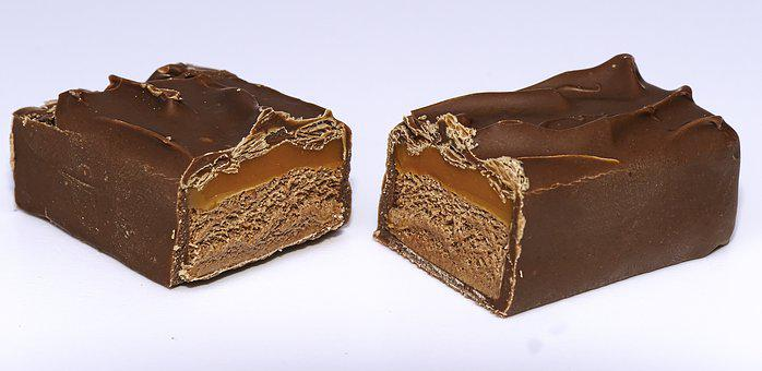 Candy Bar, Caramel, Milk Chocolate, Chocolate, Mars