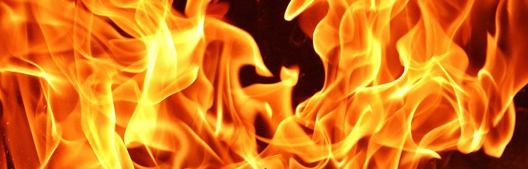 Fire, Flame, Carbon, Burn, Hot, Mood, Campfire