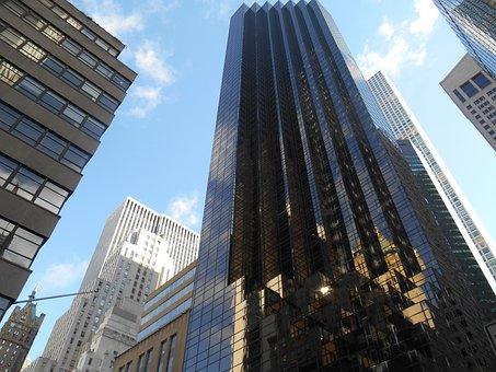 Nyc, Trump Tower, New, Trump, City, York, Manhattan