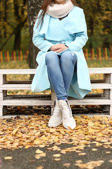 Karabadgak Shoes, Winter Shoes, Park, Coat, Autumn