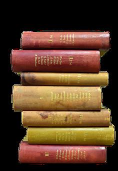 Book Stack, Books, Antiquariat, Read, Literature, Stack