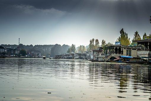 Lake, Light, Sunlight, Water, Dal Lake, Srinagar