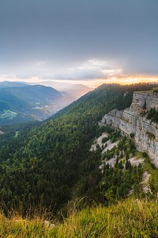 Nature, Canyon, Switzerland, Jura, Creux Du Van