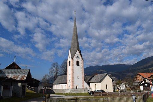 Church, Tröpolach, Sankt Georgen