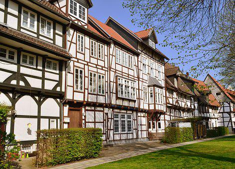 Truss, Facade, Old Town, Lemgo, Architecture, Building