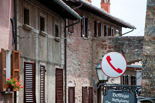 Alley, Country, Old Town, Walls, Borgo, Village