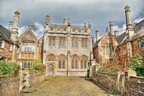 Wells, Somerset, England, Uk, Architecture, Ancient