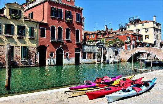 Venice, Italy, Channel, Architecture, Trip, Attraction
