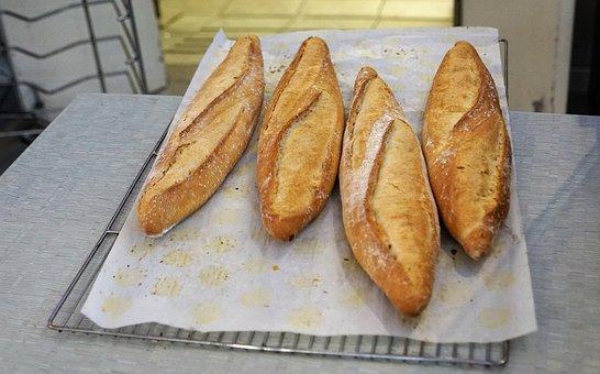 Bread, Bakery, Eat, Food, Baked Goods, Baker, Crispy