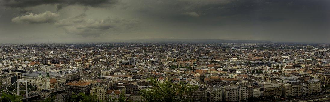 Pest, Budapest, Panorama, Hungary, Cityscape, Landscape