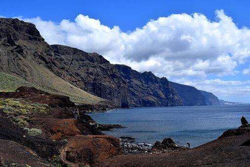 Los Gigantes, Tenerife, Coast, Outlook, Cliffs, Sea