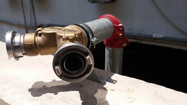 Factory, Tube, Brass, Pump